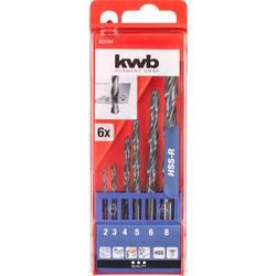 Sada špirálových vrtákov do kovu kwb 423140, N/A, 1 ks