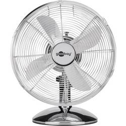 Stolný ventilátor Goobay 40 W, (Ø x v) 34 cm x 51 cm, chróm