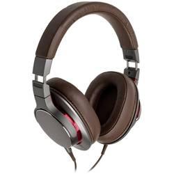 Audio Technica ATH-MSR7bGM herný headset jack 3,5 mm káblový cez uši hnedá, červená