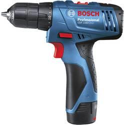 Aku vŕtací skrutkovač Bosch Professional 06019E2000, 10.8 V, 1.5 Ah