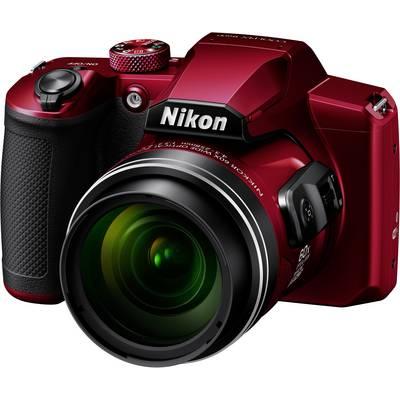 Nikon B600 rot Digitalkamera 16 Mio. Pixel Opt. Zoom: 60 x Rot Preisvergleich