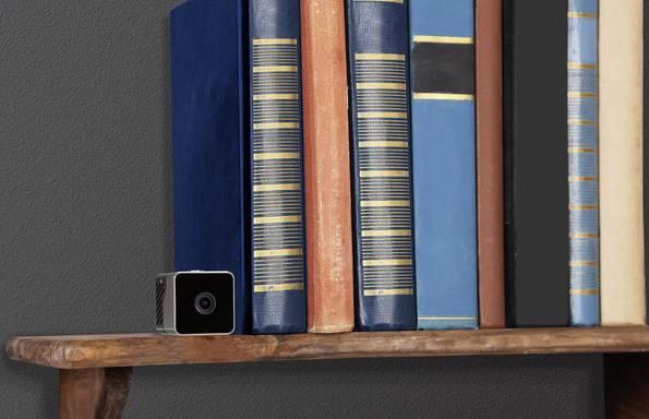 Mini-Überwachungskameras unauffälig im ganzen Raum platzierbar