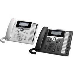Systémový telefon, VoIP Cisco CP-7861-W-K9= LCD displej bílá