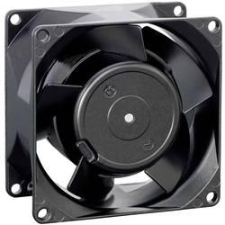 Axiálny ventilátor EBM Papst 8556 N 9274014210, 230 V/AC, 35 dB, (d x š x v) 80 x 80 x 38 mm