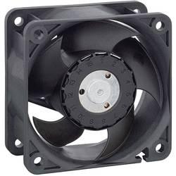Axiálny ventilátor EBM Papst 622 HH 9292207006, 12 V, 43 dB, (d x š x v) 60 x 60 x 25 mm