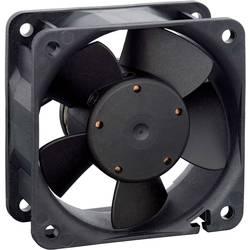 Axiálny ventilátor EBM Papst 612NGHH 9272206017, 12 V, 40 dB, (d x š x v) 60 x 60 x 25 mm