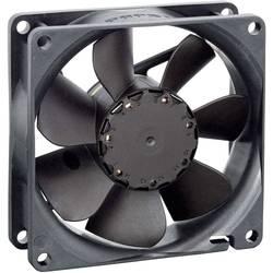 Axiálny ventilátor EBM Papst 8412NH 9292506115, 12 V, 37 dB, (d x š x v) 80 x 80 x 25.4 mm