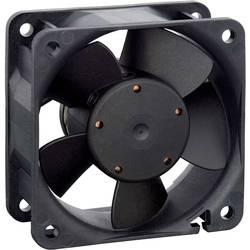 Axiálny ventilátor EBM Papst 614NN 9272206076, 24 V, 35 dB, (d x š x v) 60 x 60 x 25 mm
