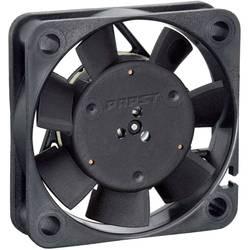 Axiálny ventilátor EBM Papst 412 F/2 H 9291705026, 12 V, 26 dB, (d x š x v) 40 x 40 x 10 mm