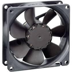 Axiálny ventilátor EBM Papst 8412N 9292506125, 12 V, 32 dB, (d x š x v) 80 x 80 x 25.4 mm