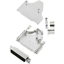 Sada D-SUB kolíkové lišty TRU COMPONENTS TCMHDM3525HDP44K, 35 °, Pólov 44, spájkovaný, 1 ks