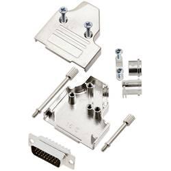 Sada D-SUB kolíkové lišty TRU COMPONENTS TCMHDM3515HDP26K, 35 °, Pólov 26, spájkovaný, 1 ks