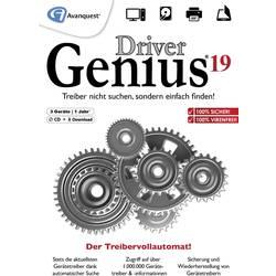 Image of Avanquest Driver Genius 19 Jahreslizenz, 3 Lizenzen Windows Systemoptimierung