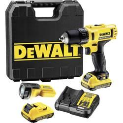 Aku vŕtací skrutkovač Dewalt DCD710D2F DCD710D2F-QW, 10.8 V, 2.0 Ah