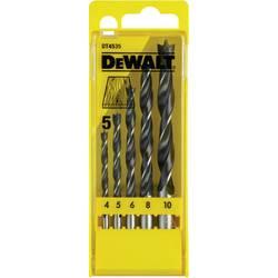Sada špirálových vrtákov do dreva Dewalt DT4535 DT4535-QZ, 5 ks