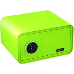 Trezor, bezpečnostní trezor Basi 2018-0001-AG, na heslo, na klíč, jablkově zelená