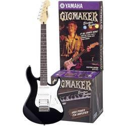 Sada elektrickej gitary Yamaha EG112GPIIHII, čierna, biela, vr. púzdra, vr. zosilňovača