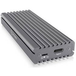 Puzdro pre pevný disk M.2 ICY BOX 60509, USB-C ™ USB 3.2 (2. generácia), sivá