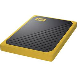 Externý SSD disk WD My Passport™ Go, 500 GB, USB 3.2 Gen 1 (USB 3.0), čierna, žltá