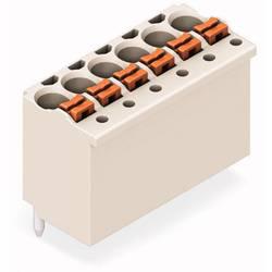 Zásuvkové puzdro na dosku WAGO 2091-1176/200-000/997-407, rozteč 3.50 mm, 130 ks