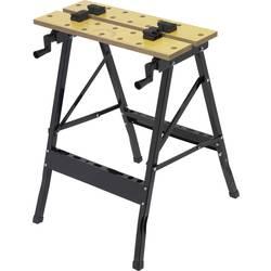 Mobilný pracovný stôl skladací Basetech 1932783, (š x v x h) 625 x 760 x 605 mm
