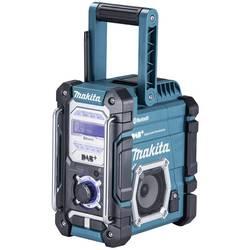 DAB+ outdoorové rádio Makita DMR112, AUX, Bluetooth, UKW, USB, tyrkysová, čierna