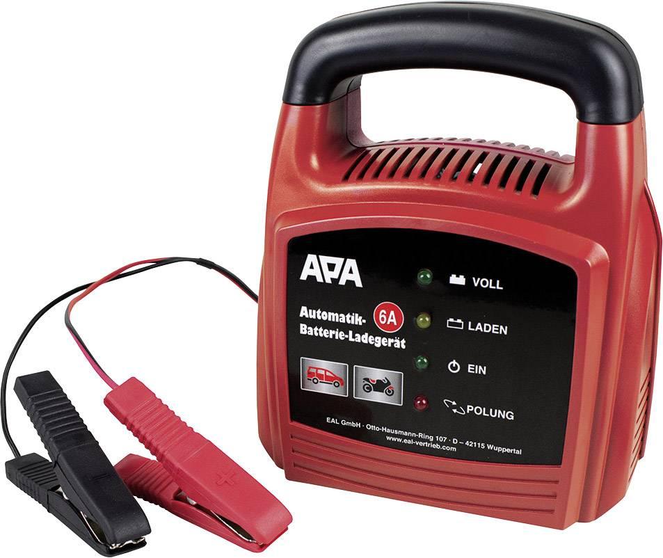 APA 16627 Automatikladegerät 12 V 4 A, 6 A