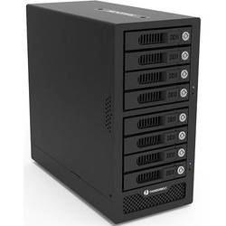 Puzdro na pevný disk SATA 2.5 palca, 3.5 palca RAIDON GR8670-TB3, Thunderbolt 3, mini DisplayPort, čierna