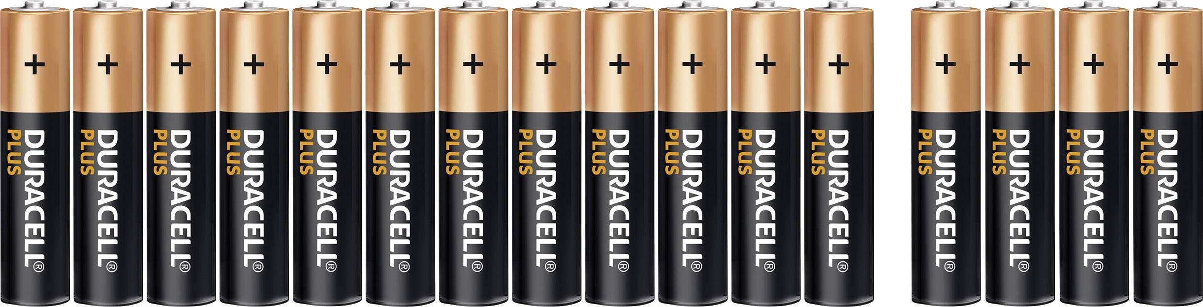 Duracell Micro -batterie Alkali-mangan Plus Power Lr03 1.5v 24st. aaa