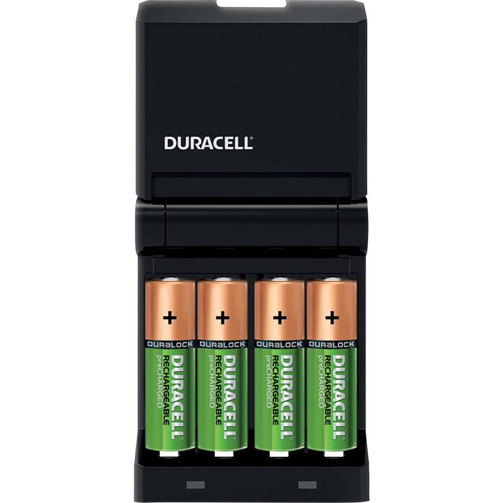 Duracell Lader CEF14 inkl.2xAA 1300mAh 2x AAA 750mAh