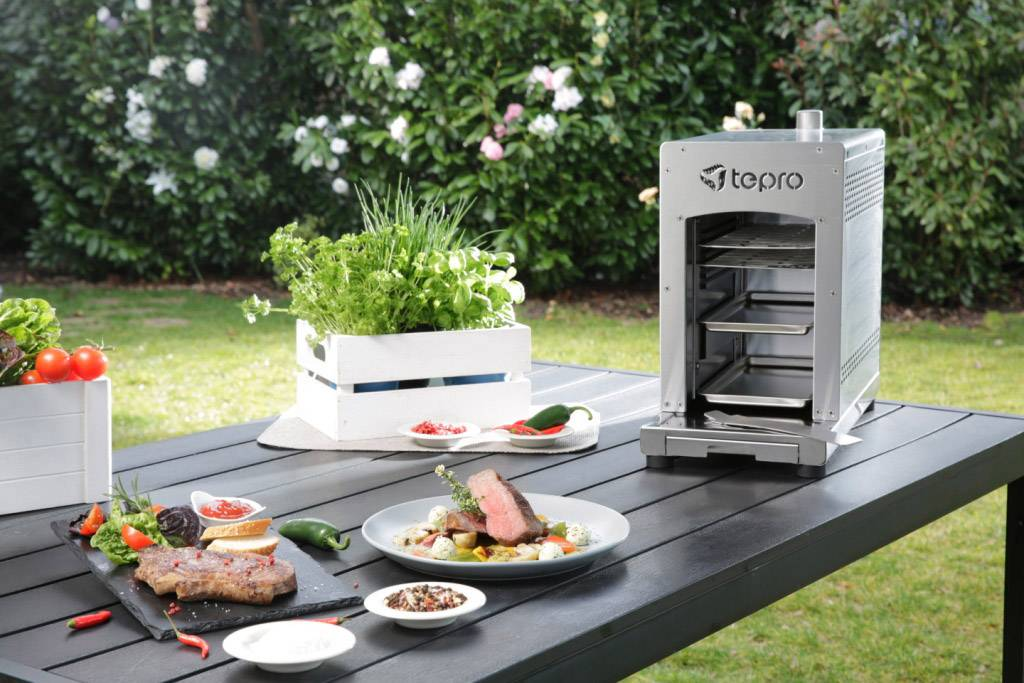 Tepro Holzkohlegrill Toronto Click Abdeckhaube : Tepro toronto grill preisvergleich tepro toronto xxl ab u ac