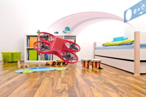 Einsteigerdrohne für Flugspaß im Kinderzimmer