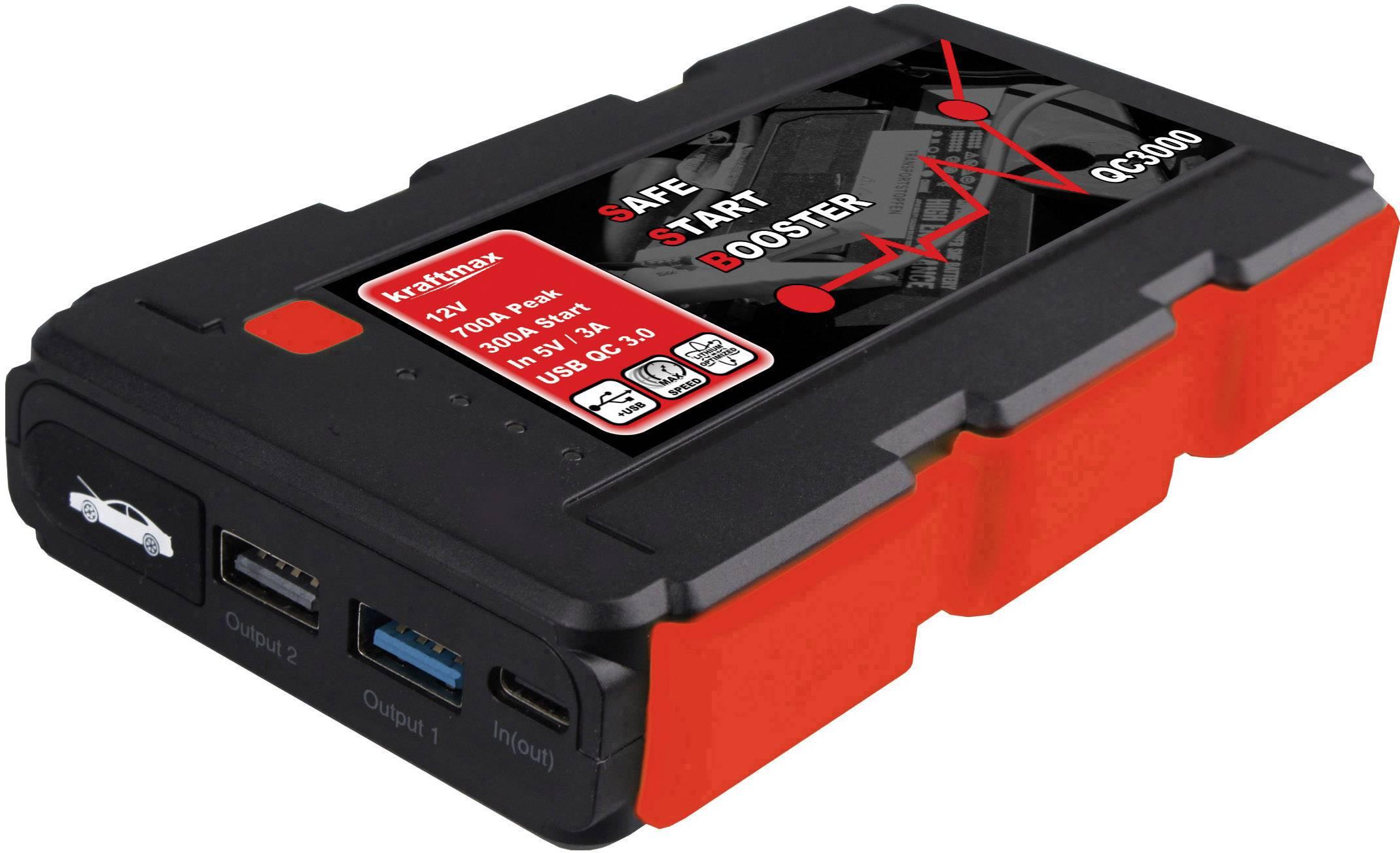 kraftmax Schnellstartsystem QC3000 143849 Starthilfestrom (12 V)=350 A