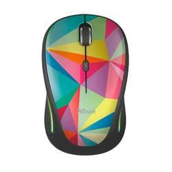 Optická Wi-Fi myš Trust Yvi FX 22337, farebná