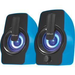 PC reproduktory Trust Gemi RGB 2.0, káblový, 12 W, modrá