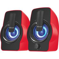 PC reproduktory Trust Gemi RGB 2.0, káblový, 12 W, červená