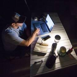 LED campingový lampáš Goal Zero Lighthouse Core 32009, 350 g, čierna, žltá