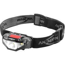 LED čelovka Ansmann HD70B 1600-0260, na batérie, čierna