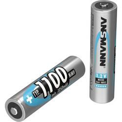 Mikrotužkový akumulátor typu AAA Ni-MH Ansmann maxE HR03 5035221, 1100 mAh, 1.2 V, 1 ks