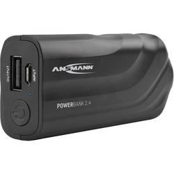 Powerbanka Ansmann PB2.4, Li-Ion akumulátor, 2200 mAh, čierna