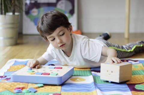 Roboter Bausatz für den Kindergarten