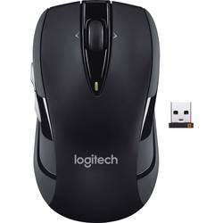 Optická bezdrôtová myš Logitech M545 910-004055, ergonomická, čierna