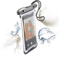 """Taška na mobil s okienkom Cellularline VOYAGER Universal na mobil s rozmerom 14,5 cm (5,7"""") , čierna"""