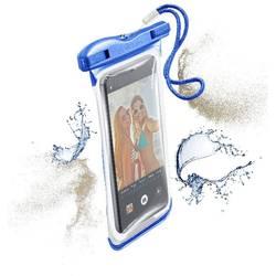 """Taška na mobil s okienkom Cellularline VOYAGER N/A na mobil s rozmerom 14,5 cm (5,7"""") , modrá"""