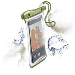 """Taška na mobil s okienkom Cellularline VOYAGER N/A na mobil s rozmerom 14,5 cm (5,7"""") , zelená"""