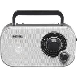 FM přenosné rádio Denver TR-54 MK2, AUX, bílá
