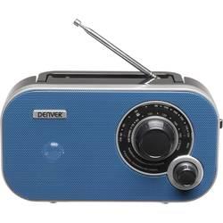 FM přenosné rádio Denver TR-54, AUX, modrá