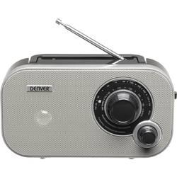FM přenosné rádio Denver TR-54, AUX, šedá
