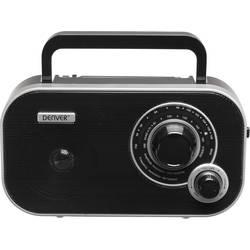 FM přenosné rádio Denver TR-54, AUX, černá