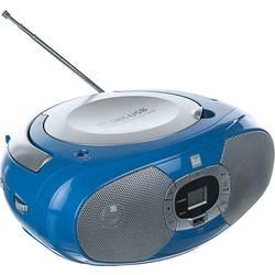 FM rádio s CD prehrávačom Dual P 390, CD, MW, UKW, USB, modrá